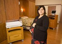 Photo of patient in room