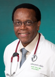 Andre' May, M.D.